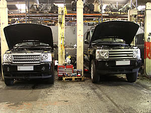 Mercedes Sprinter engine services